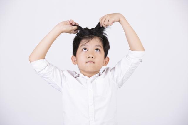頭皮が臭い子供が増えている?