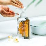 尋常性乾癬の頭皮におすすめ「haruシャンプー」の効果と入浴後のお手入れについて